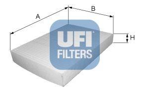 Filtru Habitaclu UFI 159 - BRERA - SPIDER
