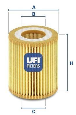 Filtru Ulei UFI 159