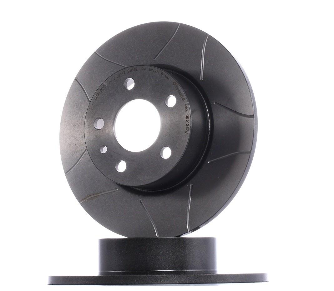 Disc frana spate BREMBO MAX-147-156