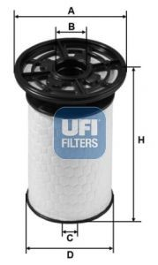 Filtru combustibil UFI GIULIA - STELVIO 2.2 D 10.15-