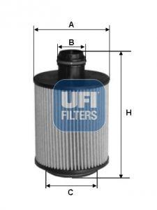 Filtru ulei UFI GIULIA - STELVIO 2.2D 10.15-