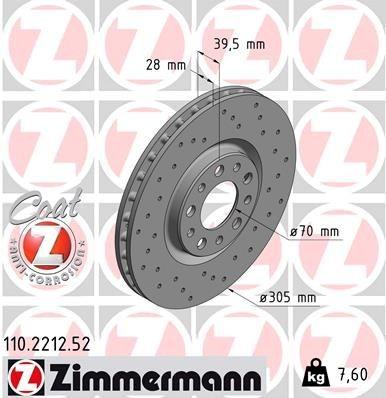 Disc Frana MAX Sport ZIMMERMANN 159 - BRERA - SPIDER - GIULIETTA