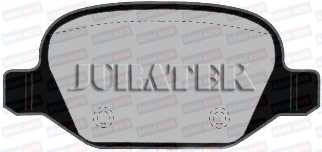 Set placute frana Spate JURATEK ALFA ROMEO 147, 156, GT; FIAT LINEA; LANCIA LYBRA