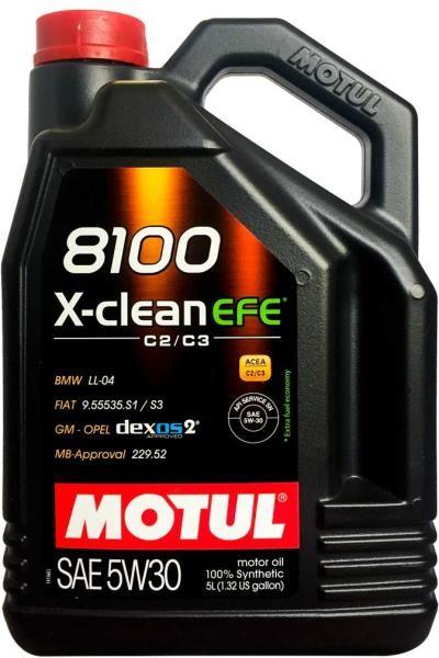 ULEI MOTUL 8100 X-CLEAN EFE 5W30 5L