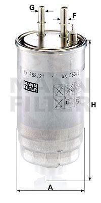 Filtru combustibil MANN  159, BRERA, GIULIETTA, MITO, SPIDER