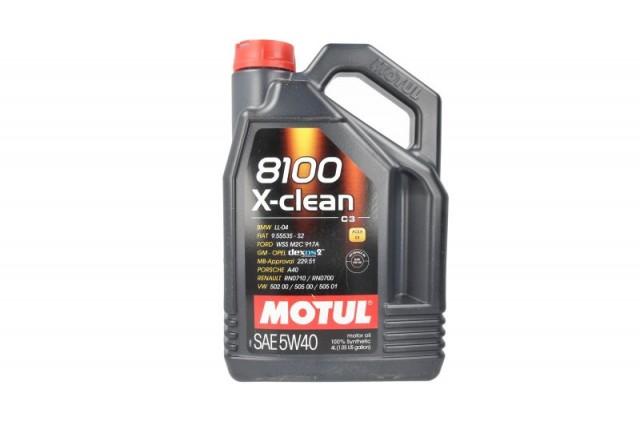 ULEI MOTUL 8100 X-CLEAN 5W40 C3 4L
