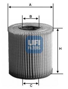 FILTRU ULEI UFI 2.4 JTDM 159-BRERA-SPIDER