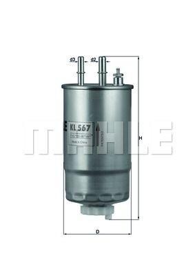 Filtru combustibil KNECHT 159, BRERA , MITO, GIULIETTA, SPIDER